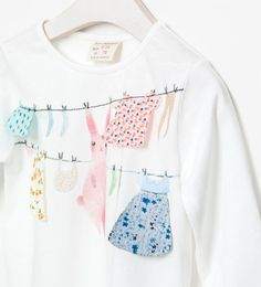 SHIRT MIT AUFDRUCK - T - Shirts - Baby Mädchen (3 - 36 Monate) - Kinder | ZARA Deutschland