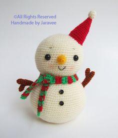 Snowman #amigurumi #craft #snowman