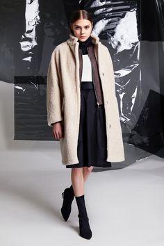 Photographer: Paavo Lehtonen MUAH: Piia Hiltunen Stylist: Shadi Razavi Model: Christina Shevelkova Red Moon, Light And Shadow, Fur Coat, That Look, Feminine, Wool, Skirts, Jackets, Collection