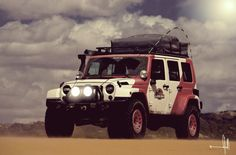 I want to make my next Jeep look like this Jurassic Park