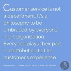 """Customer service is"