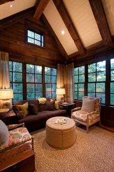 Elegant rustic retreat in the Blue Ridge Mountains