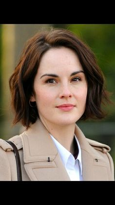 Hair crush, Michelle Dockery. Best known for playing Lady Mary Crawley in Downton Abbey