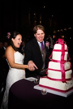 The bride might have been from Boston but the guests loved being at the wedding at The Country Music Hall of Fame!