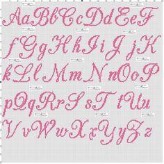x - Cross Stitch Cross Stitch Letter Patterns, Monogram Cross Stitch, Cross Stitch Baby, Cross Stitch Designs, Stitch Patterns, Crochet Alphabet, Embroidery Alphabet, Crochet Letters, Embroidery Patterns