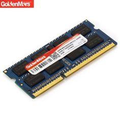 GoldenMars 204Pin - 4GB 1600 MHz DDR3 memoria Banco componente del ordenador portátil. Hoy con el 58% de descuento. Llévalo por solo $84,900