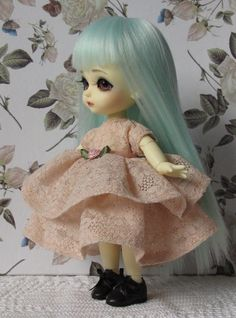 Romantic lace dress for Lati Yellow Pukifee by EveryDollsDream