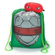 Teenage Mutant Ninja Turtles Character Sleeping Bag with  Eye Mask And drawstring Bag - See more at my Avon estore:  http://www.youravon.com/srudek