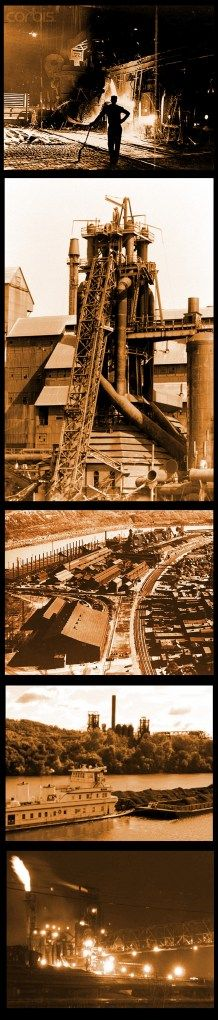 Steel Mill strip Local History, Us History, Carnegie Steel, Pennsylvania History, Pittsburgh City, Andrew Carnegie, Steel Mill, Labor Union, My Kind Of Town