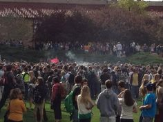 Where there's smoke, there's fire. (Photo credit: Nicholas Stollings) #jmc1 #cu420