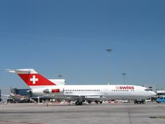 swiss air B727 -I have boarded this airplane.