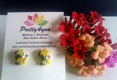 Brincos em Polymer Clay - Pretty4You Bijuteria.