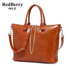 2016 New Women Genuine Leather Bag Casual Tote European Style Handbag  Trendy Bolsas Fashion Shoulder Bag 757d8ab5e7c27