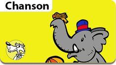 Cadeau pour les enfants, une musique gratuite. La chanson La Marche des Éléphants.