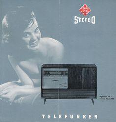 Telefunken Hi Fi Stereo Combination Folder Model Hymnus 7036 Wk (I have this!!!)