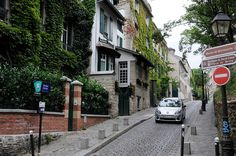 Montmartre neighborhood, Paris, France