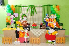 Festa decorada do Chaves