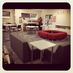 Jodie D.'s 21st century classroom at CHS- applied for grant to get furniture!