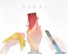 Durarara!! Mikado Ryuugamine,Kida Masaomi, Izaya Orihara, Anri Sonohara