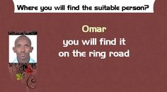 Where you will find the suitable person?