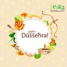 Everyday sunrise to give us a message – 'Darkness will always be beaten by light'. Let us follow the same natural rule and enjoy the festival of good over evil. Happy Dussehra! #Dussehra #DurgaPuja #KeralaHolidays #HappyDussehra