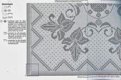 Nove Sheme I Heklani Radovi 109 – Heklanje Crochet Tablecloth, Crochet Doilies, Crochet Lace, Doily Patterns, Crochet Patterns, Filet Crochet Charts, Bobbin Lace, Chrochet, Crochet Designs