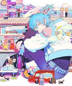 Aoba ❤ Ren & the DMMd dollhouse