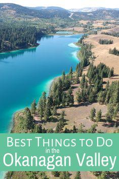Kelowna to Osoyoos: The Ultimate Okanagan Road Trip Things To Do In Kelowna, Backpacking Canada, Visit Canada, Canada Trip, Travel Tours, Travel Guides, Canadian Travel, Get Outdoors, British Columbia
