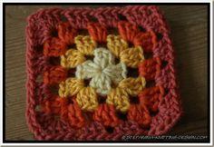 Crochet Granny Square Blankets tuto granny- Carré old america en francais Plaid Au Crochet, Crochet Lace Scarf, Crochet Cowl Free Pattern, Bonnet Crochet, Crochet Mandala Pattern, Crochet Diy, Granny Square Crochet Pattern, Crochet Granny, Baby Blanket Crochet