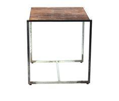 Relish Vintage Industrial Metal Table
