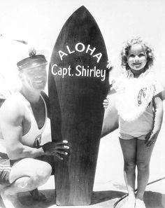 Shirley Temple in Hawaii, 1935.