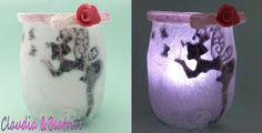 Il meraviglioso mondo del Fimo... e altro ancora!: Piccola lanterna con fatina