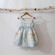 Signature Map Dress