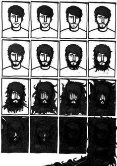 A true mountain man beard.