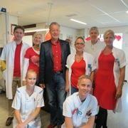 De polikliniek en verpleegafdeling cardiologie in het Gemini Ziekenhuis kleurde vandaag rood. - http://www.gemini-ziekenhuis.nl/algemeen/Nieuws/Nieuwsarchief/articleType/ArticleView/articleId/379/Dress-Red-Day-in-Gemini