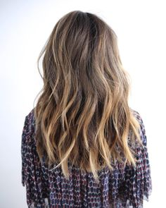 «M I D L E N G T H  Color: @anjabee  Cut/Style: me  #fall #look #hair…