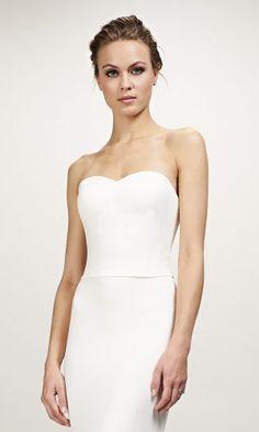 Theia Brianna Top - Available at Love and Lace Bridal Salon Irvine, CA - www.loveandlacebridalsalon.com