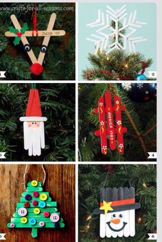 DIY Popsicle Stick Ornament