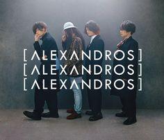 横向きに並ぶAlexandros