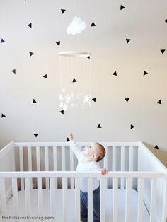 Mini Triangles - Urban Walls - Designs By Danielle Hardy