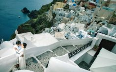 Greece was Made for Destination Weddings - Greece Is Destination Weddings, Amazing Destinations, Santorini, Greece, Europe, Travel, Greece Country, Trips, Traveling