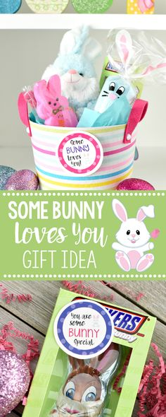 Some Bunny Loves You Easter Gift Idea
