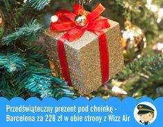 Barcelona za 228 zł w obie strony z Wizz Air - Przedświąteczny prezent