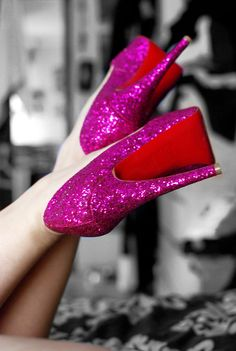 these #louboutin need to be invited to my bday party. how fun are they!