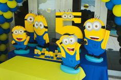 Despicable Birthday Party | CatchMyParty.com