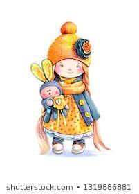 Watercolor printwatercolor flowers Wall Art little girl Baby Animal Drawings, Art Drawings For Kids, Art For Kids, Watercolor Drawing, Watercolor Print, Watercolor Flowers, Arte Dachshund, Baby Art, Penny Black