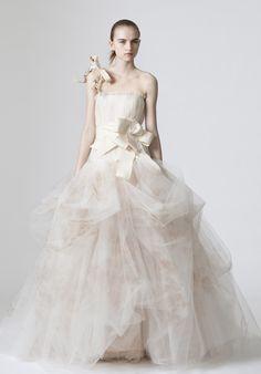 Elegant Wedding dresses Vera Wang