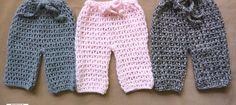 Treble Crocheted Baby Pants [S.O.P. Series]