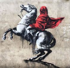 Banksy appears to have taken aim at France's politics with six new works in Paris. The new graffiti has popped up around the French capital over the past few days. Banksy Graffiti, Street Art Banksy, Arte Banksy, Graffiti Bombing, Banksy Artwork, Street Art News, Bansky, Street Artists, Banksy Paintings