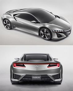 acura nsx concept hybrid Liking it minus the hybrid part